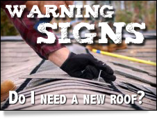 Warning signs document. Do I need a new roof?