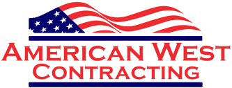 American West Contracting logo.